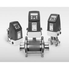 Электромагнитные расходомеры санитарного исполнения: санитарный датчик модель 4700S с керамической или ПФА футеровкой и преобразователи моделей 47 и 48