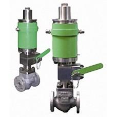Клапаны запорные с электромагнитным приводом