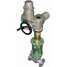 Клапаны запорные, запорно-регулирующие, регулирующие c электроприводом